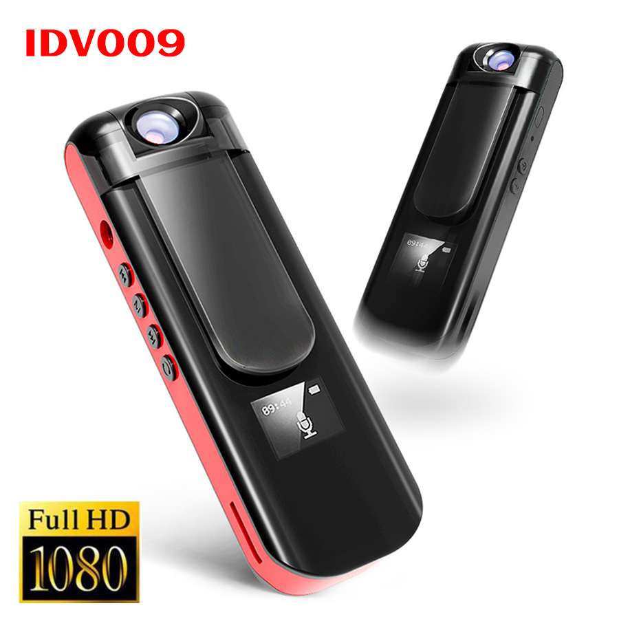 IDV 009 Mini Kamera Aufnahme Stift 1080 P Full HD Sport DV Camcorder Drehen Objektiv Stimme Video Recorder Eingebaute Mp3-player Mini DVR