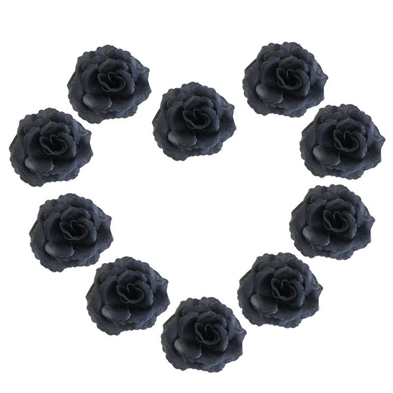 20 unids rose fiesta de boda de flores de seda diy casa oficina tienda de jardín