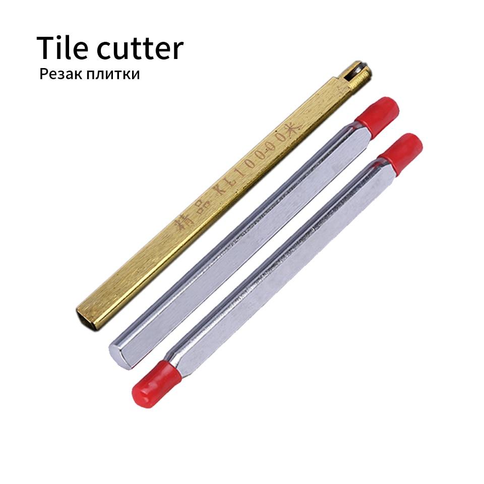 Manual Tile Cutter Machine Head Ceramic Glass Cutting Drill Spear Head Tile Cutter Cutting Double Head Hand Tool Accessories