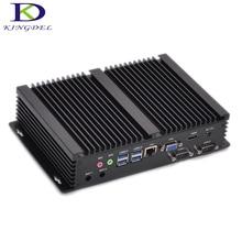 Новые DDR4 промышленный компьютер с 2 * COM Intel 4 ядра i5 8th Gen 8250U 6 м Кэш до 3,4 ГГц безвентиляторный мини-hdmi для ПК VGA