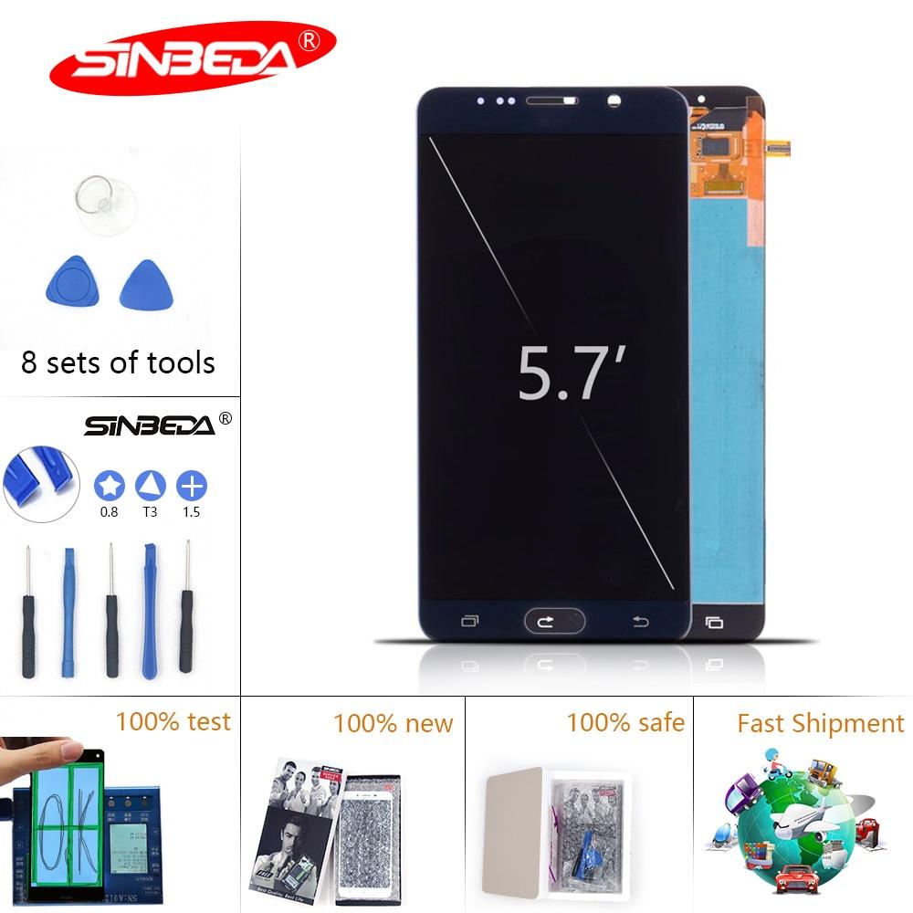 5,7 sinbeda LCD para SAMSUNG Note 5 LCD pantalla táctil digitalizador N920A N9200 N920C SM-N920 LCD para Galaxy Note 5 pantalla $