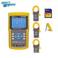 Electrical Equipments DW 6092 Three 3 Phase Power Meter Analyzer Lutron Dw 6092 Tester Real Time