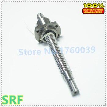 Dia:16mm Lead:16mm Rolled Ballscrew 1pcs SFE1616 High lead Ball screw L=1000mm+1pcs single ballnut with BK/BF12 end processing