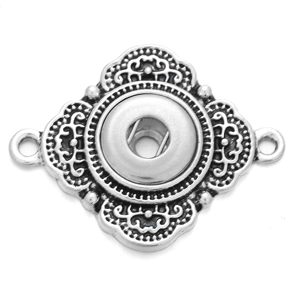 6pcs/lot Snap Jewelry 12mm Snap Button Charms Snap Accessoris & Findings to Make DIY Bracelet image