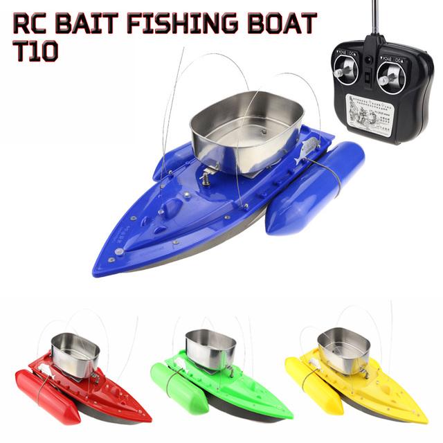 Lynrc rc t10-a (actualización t10-b) cebo de pesca del barco de control remoto