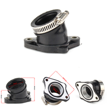 цена на Motorcycle Rubber Adapter Inlet Intake Pipe For BSE MOJO 250cc CB250 Dirt Bike Motocross Modified PWK 28 30mm carburetor