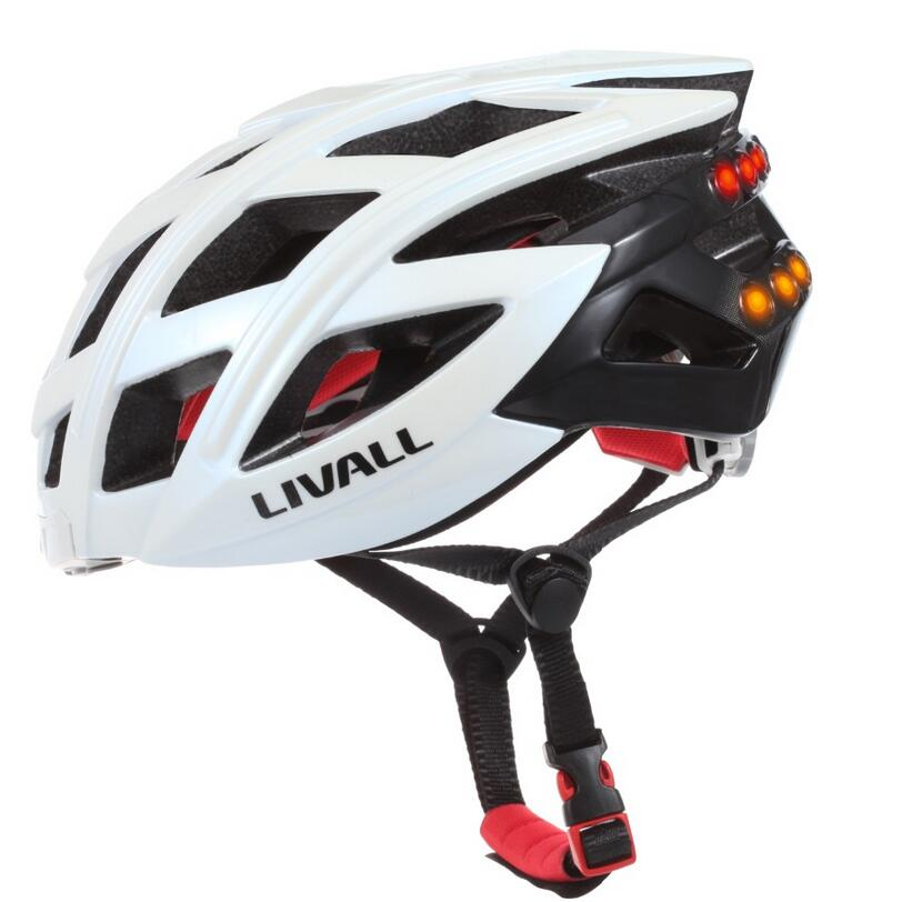 Bike Helmet Bluetooth Cycle Helmets Smart Safety Bicycle Helmet Intelligent Cycling Helmet with Tail Light Turn Signals BH60 цена