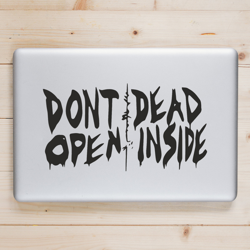 Walking Dead Humor Laptop Decal for font b Apple b font font b Macbook b font