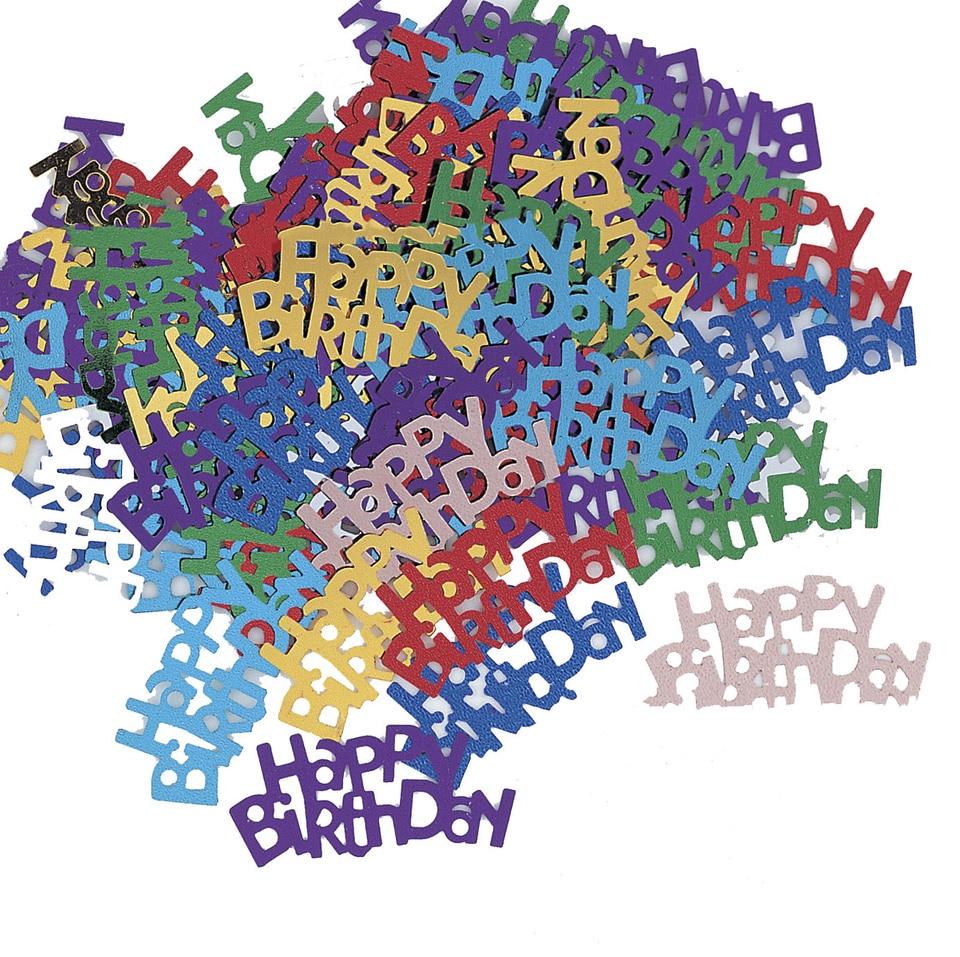 Zljq Couleur Confettis Lumineux Joyeux Anniversaire Mariage Fete Table Decoration Age Anniversaire Fete Mariage Decoration Fournitures 5d Aliexpress