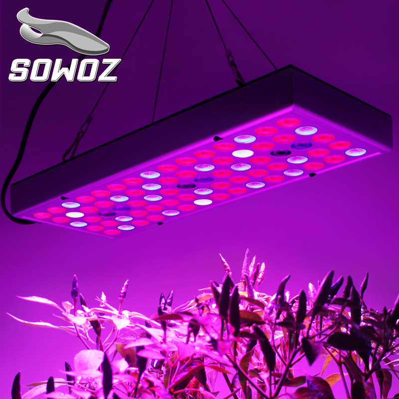 SOWOZ Plant growth lamp 25W 45W  LED Grow light Full Spectrum for Indoor Greenhouse grow tent LED Plants grow light