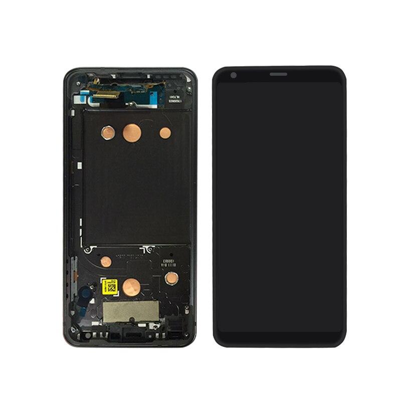 Pour LG G6 écran LCD avec écran tactile numériseur assemblée avec cadre livraison gratuite