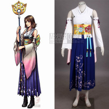 Athemis Final Fantasy Ten Yuna Cosplay Summoned Costume Outfit High Quality Same as original Character Any Size