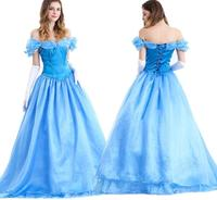 Movie Cinderella Princess Snow White Cosplay Dress Version 2