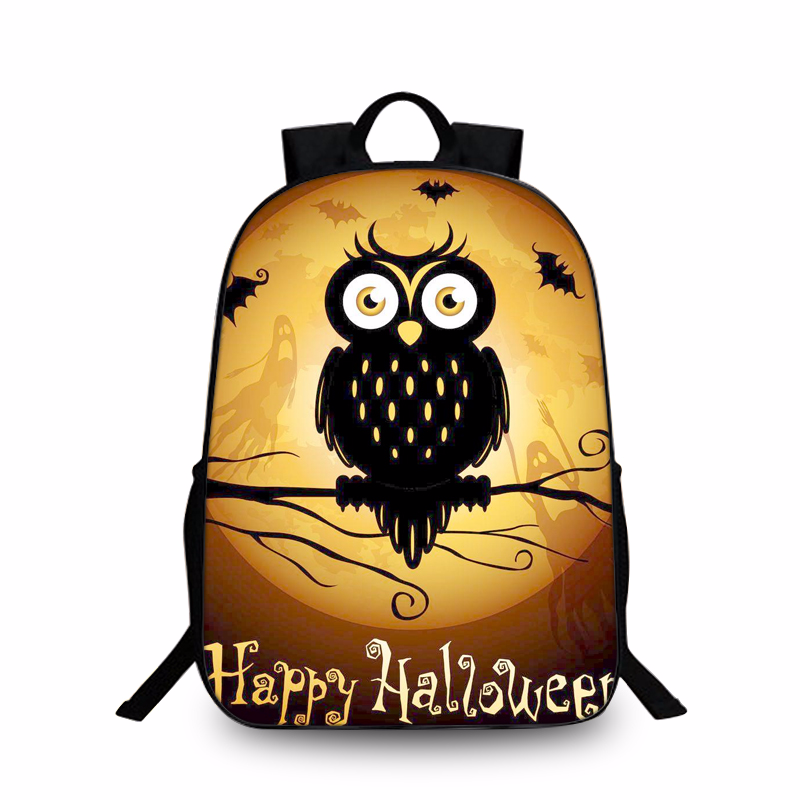 New Hot Fashion Boys Girls School 3D Printed Bagpack DIY Magic Character Halloween School Laptop Animal Kids Bagpacks image