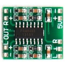 1 Шт. 2 Каналов 3 Вт Цифровой Усилитель PAM8403 Класса D Аудио Модуль усилитель Совет USB DC 5 В Мини Класса D Цифровой Усилитель Доска ЖК(China (Mainland))