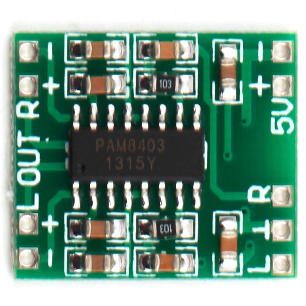 New 2 Channels 3w Digital Power Pam8403 Class D Audio Module Amplifier Board Usb Dc 5v Mini Classd Digital Amplifier Board Lcd kopen