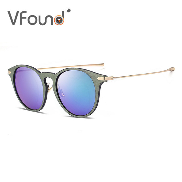 cb98a341600 VFound Unisex Round Clear Glasses Color Lens Retro Womens Sunglasses Male  Designer Brillen Mens Sun Glasses