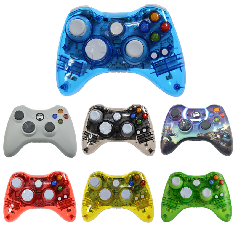 Wireless Controller For XBOX 360 Console For Microsoft XBOX360 Gaming Gamepad Fit For PC Computer ControleWireless Controller For XBOX 360 Console For Microsoft XBOX360 Gaming Gamepad Fit For PC Computer Controle