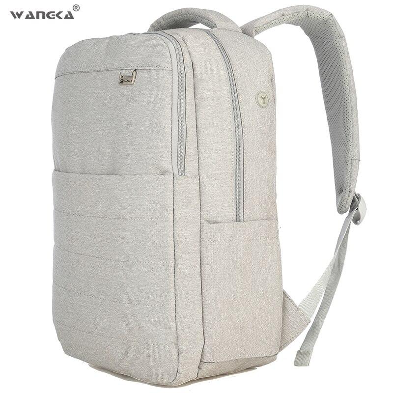 Anti-vol sac à dos toile sacs d'école loisirs affaires 15.6 pouces sac à dos pour ordinateur portable avec Interface casque pour hommes