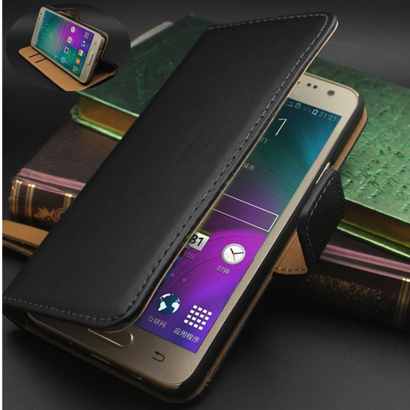 Retro Leather Flip Cover Celular For Samsung Case On 2015 A3 A5 A7 A8 J1 J2 J3 J5 J7 And(2016) A3 A5 A7 J5 J7 Silicon Back Cover