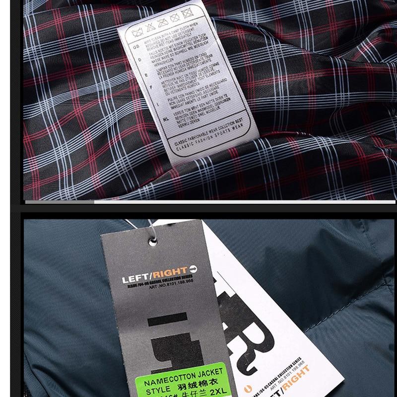 Erkekler Hoody Kışlık Mont Erkek Kapüşonlu Artı Boyutu XXXL 4XL - Erkek Giyim - Fotoğraf 3