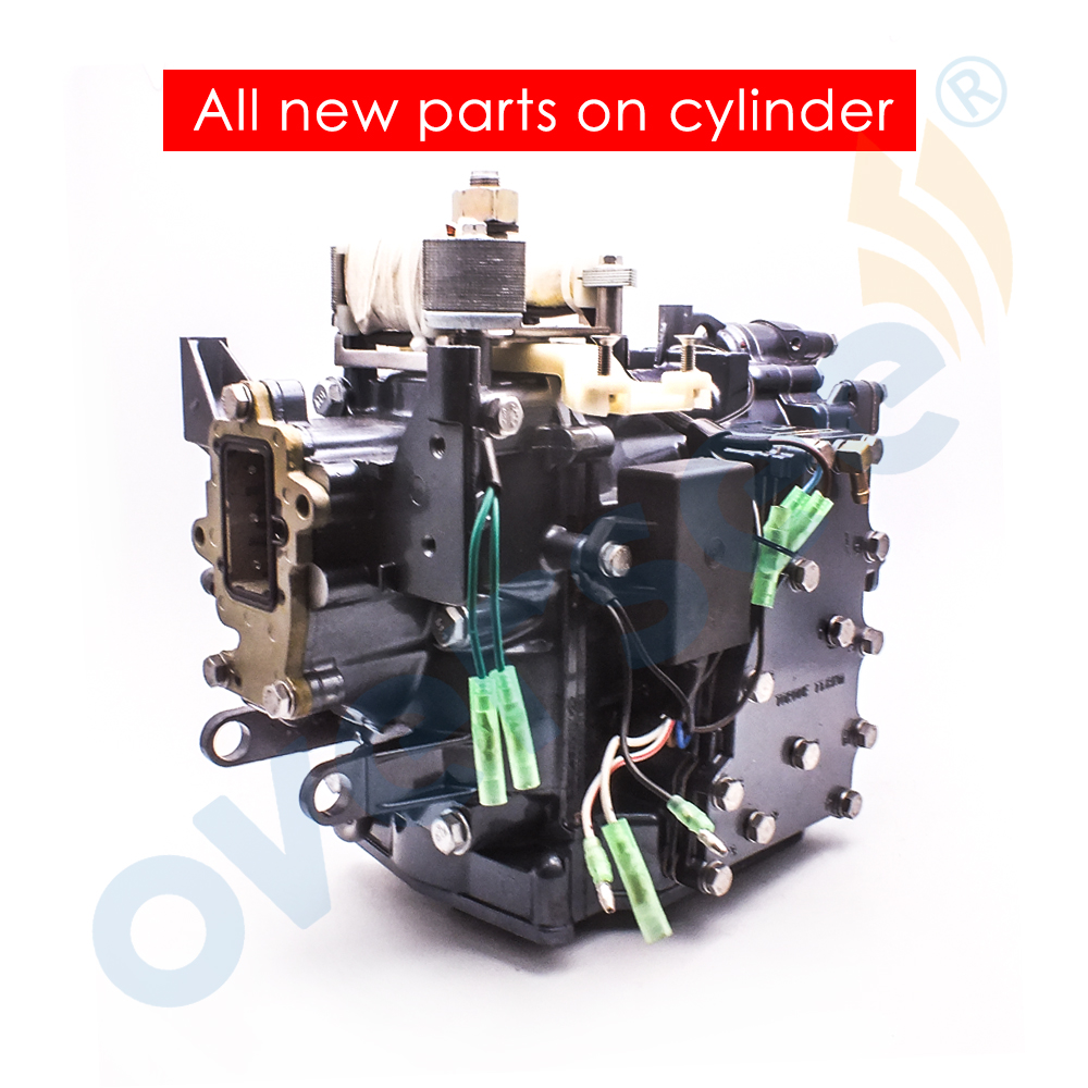NEW 63V-W0090-03-1S  OUTBOARD CRANK CYLINDER ASSY FOR YAMAHA OUTBOARD ENGINE 9.9HP 15HP