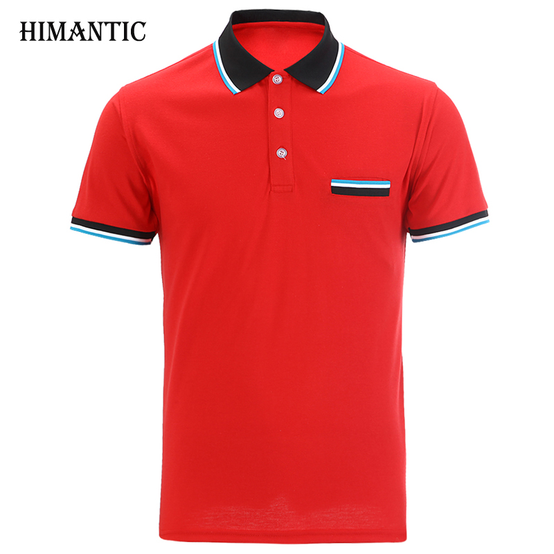 Polo Men Short sleeve Cotton Casual Breathable Shirt Mens Turn-down collar camisa Polos shirts homme Men Brand clothing
