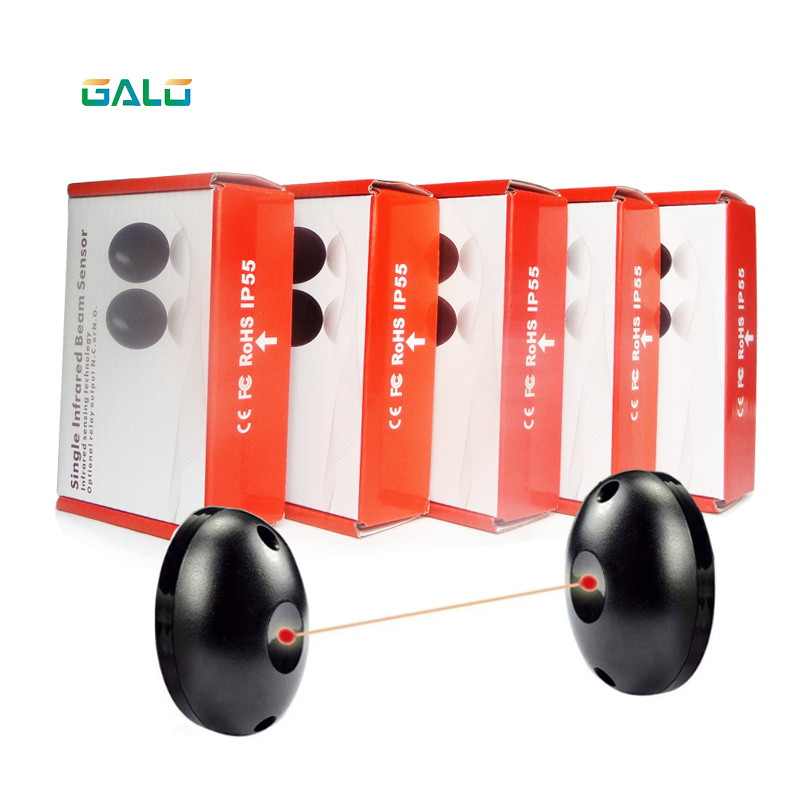 Проводной фотоэлемент безопасности 24V/12vac/DC, инфракрасный однолучевой датчик для автоматических дверей и ворот гаража, 5 пара/лот|Сенсор и детектор|   | АлиЭкспресс
