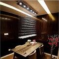 newest fashion modern luxurious K9 crystal led 3/4/6/7 lights pendant light dining room bar resturant light 1515