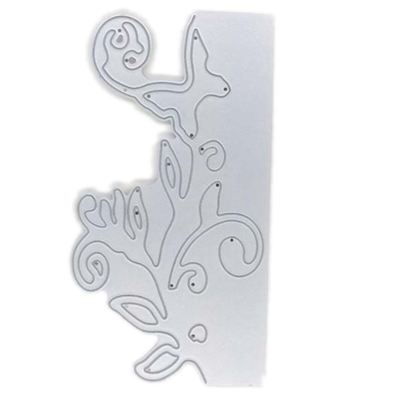 Openwork Flower Butterfly Envelope Greeting Card Metal Cutting Mould Scrapbook Album Card Paper Embossing Craft