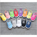 2016New Hot sale Shoes inner length 13~16.3cm Children Shoes for baby Sneakers Boys sports shoes girls canvas shoes candy colors