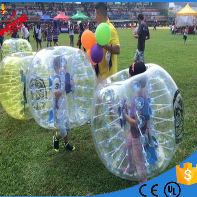 1m PVC Inflatable Bubble Soccer Bubble Ball for kids inflatable human hamster ball, Bumper Ball bola de futebol ...