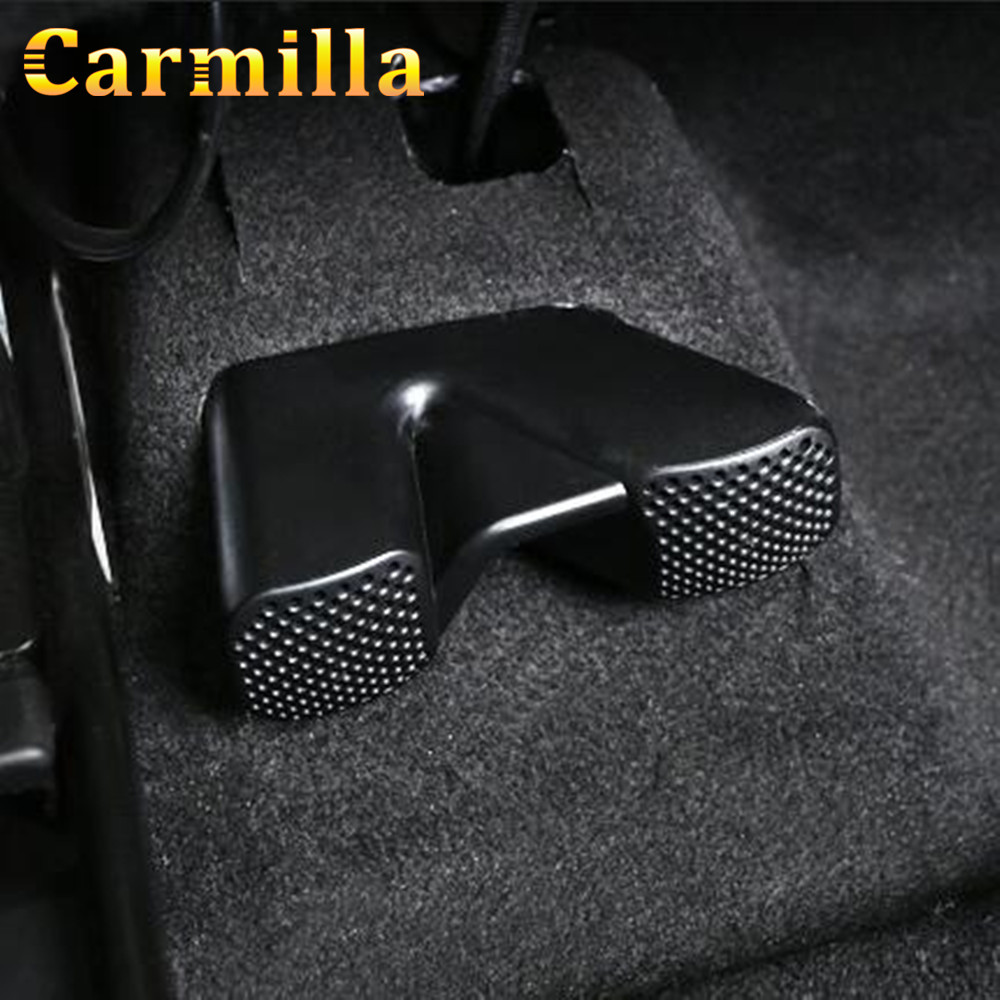 Carmilla ABS Car Air Vent Cover For Nissan X-trail X Trail Xtrail Rogue T32 2014 - 2018 Under Seat Air Conditioner Outlet Covers