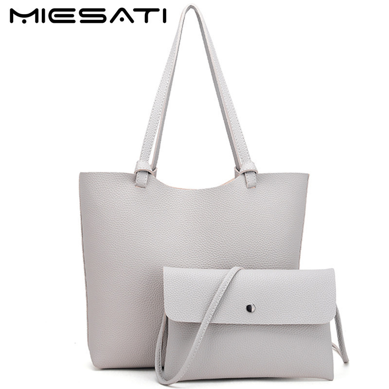 MIESATI Women Leather Purses And Handbags Ladies Composite Bag Simple Female Shoulder Bag With Small Crossbody Bag Luxury Brand composite structures design safety and innovation