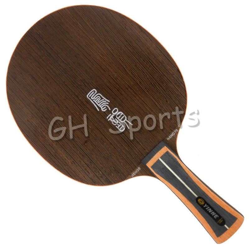 Galaxy Milky Way Yinhe NW-70 Wenge Nano 70 7 Wood + Nano Table Tennis Blade for Ping Pong Racket yinhe milky way galaxy n9s table tennis pingpong blade long shakehand fl