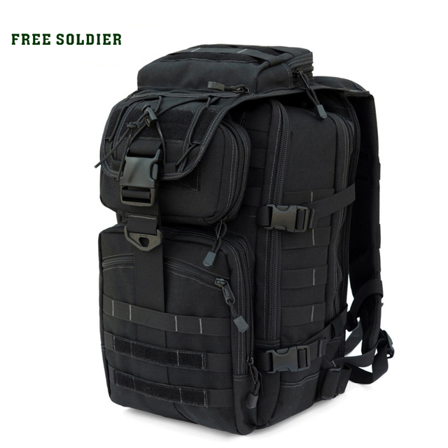 FREE SOLDIER Outdoor Sports Camping&Hiking Climbing Tactical Backpack For Men X7 With Dupont Teflon Fabric YKK Zipper