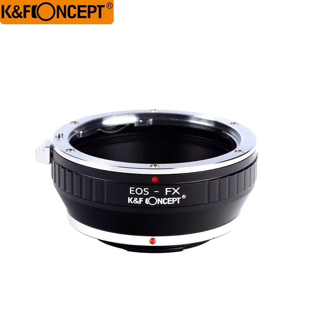 K & F CONCEPT Pour EOS-FX Camera Lens Adapter Ring pour Canon EOS EF/efs Mont à pour fujifilm X Mont Fuji X-Pro1 XPro1 X
