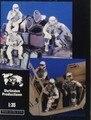 1/35 miniaturas escala moderna NOS tanques de membro 3 pessoas Kit Resina Modelo figura Frete Grátis
