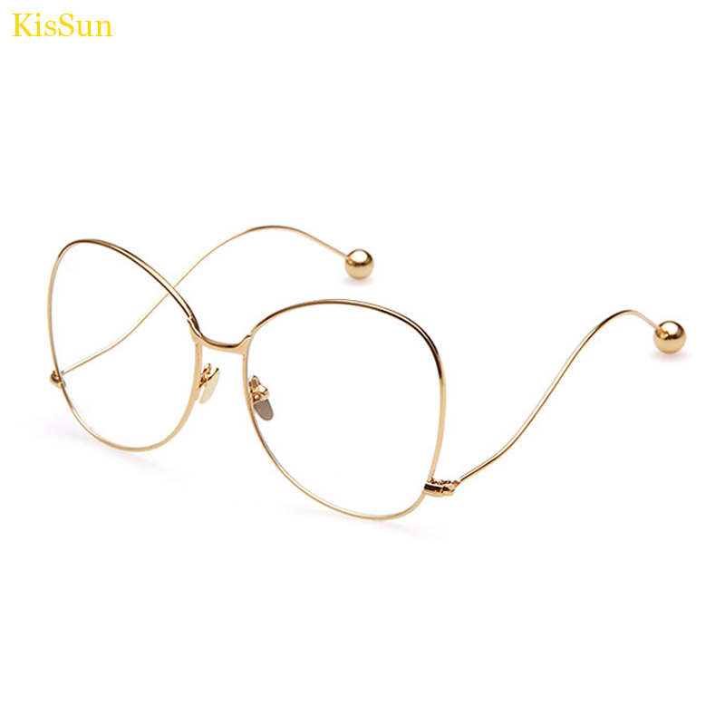 oversized eyeglass frame eyewear black korean eye glasses frames for women clear fashion glasses gold prescription glasses frame