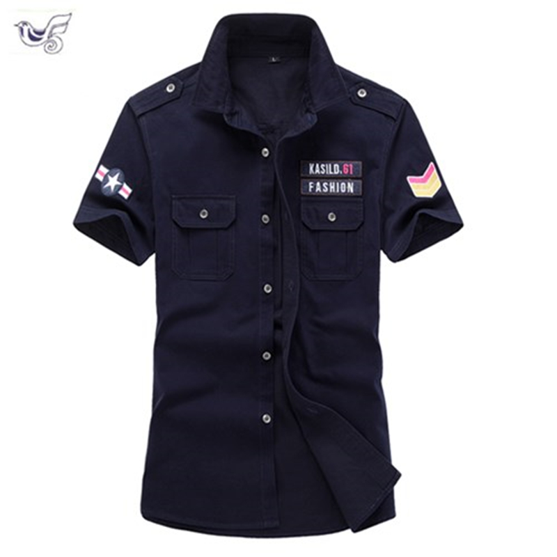 XIYOUNIAO plus size M~5XL 6XL new mens summer cotton Short sleeve army Air force one   Polo   shirt men breathable camisa masculina