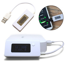 Hight Quality Mini Voltage Current Tester Meter Useful USB Charger Mobile PC Battery Capacity Power