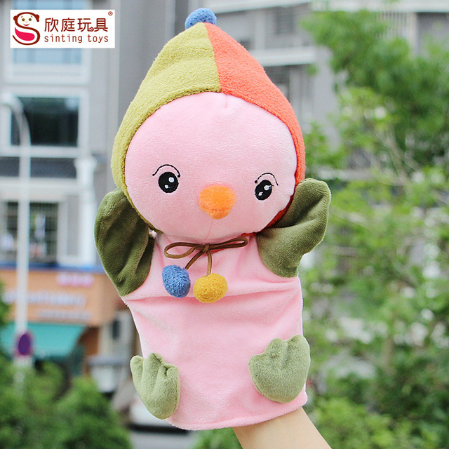 Juguetes de peluche mano accidentalmente serie adorable de polluelos a contar la historia de la guardería juguetes para niños bebé