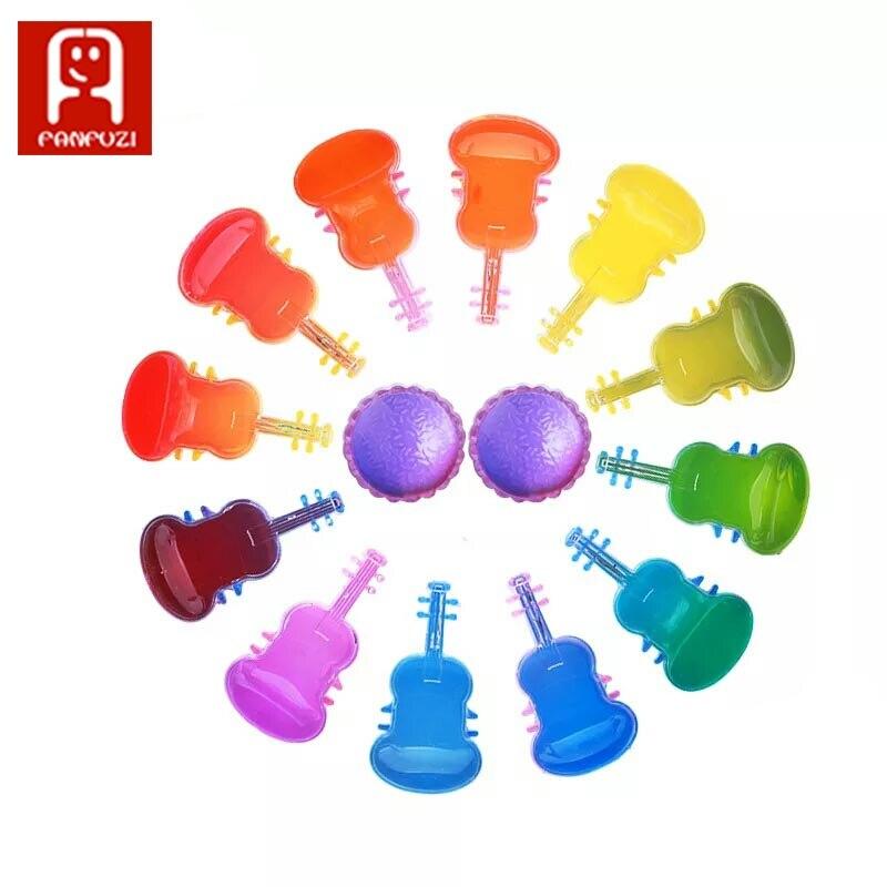 12 kolor kryształu błoto Playdough dzieci edukacyjne zabawki