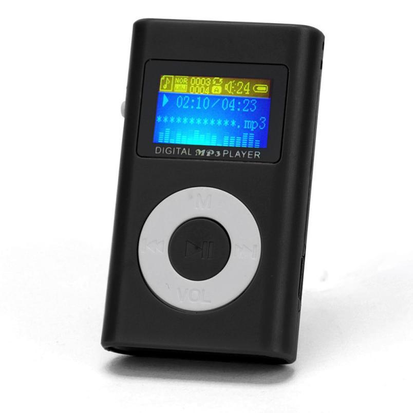 Walkman Hifi Player USB Mini MP3 Player LCD Screen Support 32GB Micro SD TF Card Mp3 Sport Music Player Headphones Mp3 Player