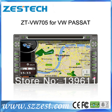 ZESTECH 7 inch car dvd player for vw golf4/ peugeot 307, control buttons green or red adjsutable