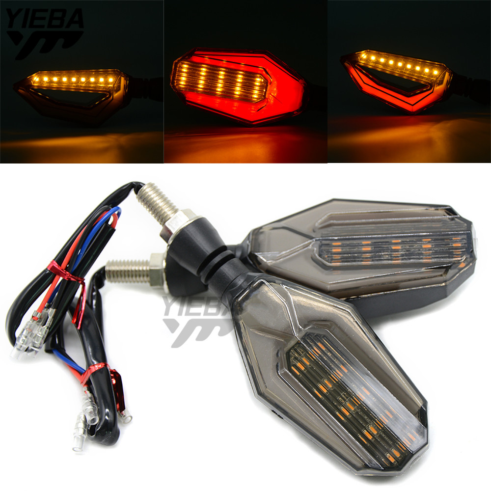 Universal 12 LED Motorcycle Turn Signal Indicators Lights/Lamp FOR Yamaha Tmax 500 530 XJR 400 1300 Honda CBR500R CB500F cbr500f universal motorcycle side rearview mirror accessories mirrors for yamaha mt09 mt 09 tracer xj6 fjr xjr 1300 tmax 530 500 yzf r1