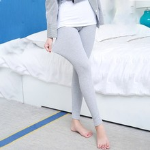 [aosheng] New Autumn Winter 2018 Fashion Plus Size Elastic High Waist Knitted Ankle-length Legging Women 5 Color Y005M
