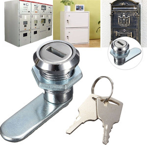 Door Mailbox Drawer Cupboard Locker Cam Lock For Security Door Cabinet Cylinder With 2 Keys Home Safety Tools