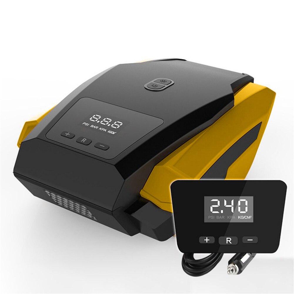Новый 19/22 цилиндра 120 Вт автомобильных шин 40L/мин DC12V Электрический автомобильный компрессор насос цифровой надувной насос с индикатором