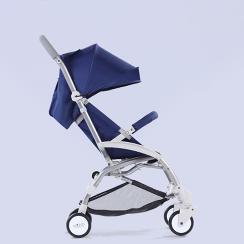 ultra-lightweight baby strollers folding can sit can lie high landscape umbrella baby trolley summer